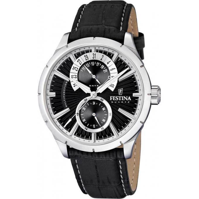 montre festina retro f16573 3 montre noir homme sur bijourama montre homme pas cher en ligne. Black Bedroom Furniture Sets. Home Design Ideas