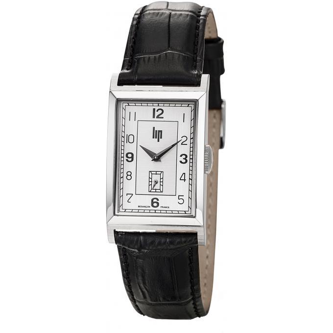 montre lip t18 churchill 671270 montre rectangulaire quartz homme sur bijourama montre homme. Black Bedroom Furniture Sets. Home Design Ideas