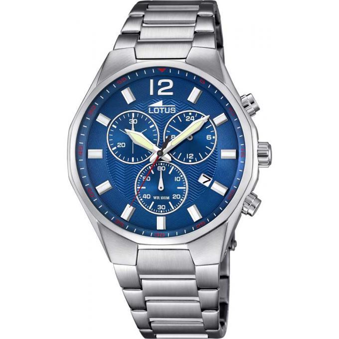 montre lotus l10125 3 montre chronographe bleue homme sur bijourama montre homme pas cher en. Black Bedroom Furniture Sets. Home Design Ideas